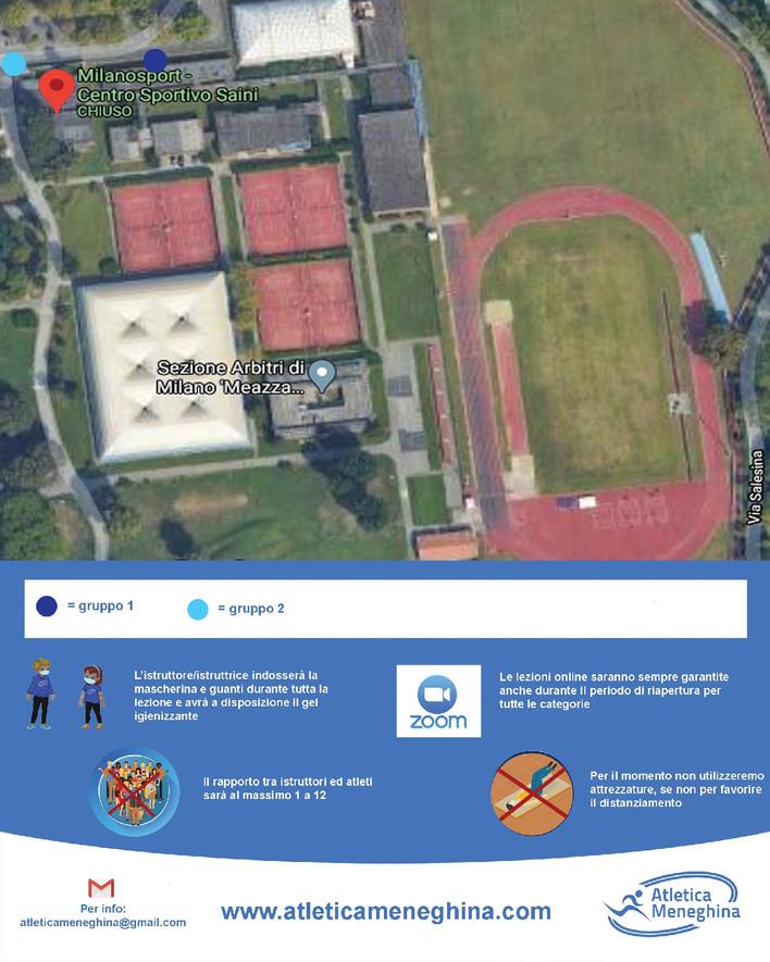 Protocolli di Sicurezza - Attività al Parco Forlanini (Saini)