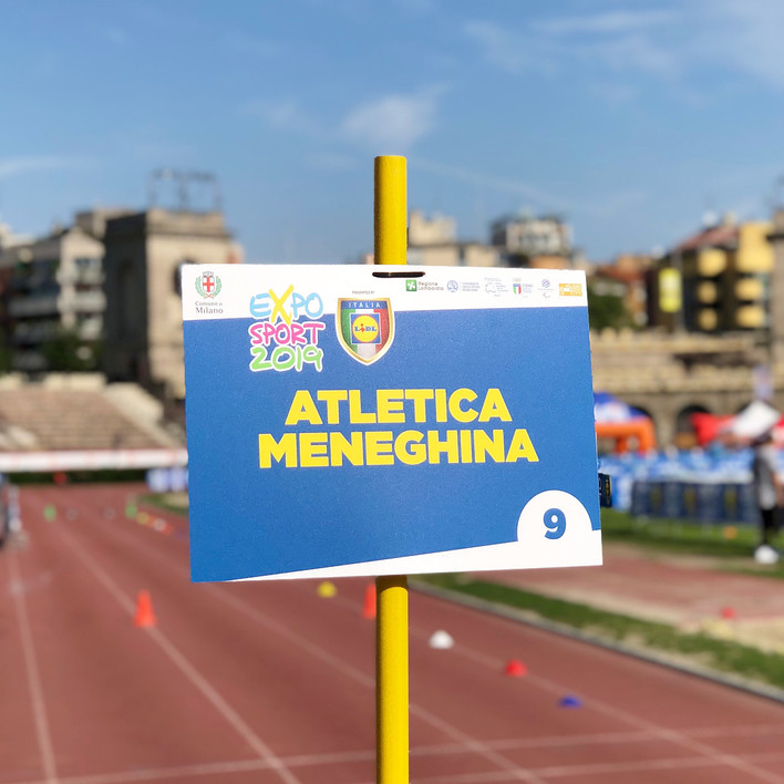 Weekend in Arena Civica all'Expo per lo Sport: Open Days di Atletica leggera.