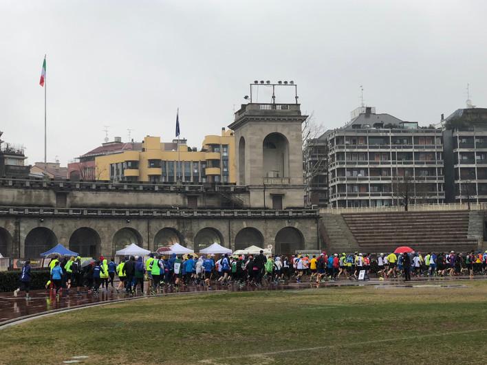 Corsa bagnata per i nostri atleti al Trofeo Sempione!