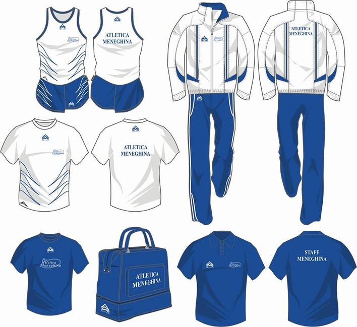 Abbigliamento tecnico di Atletica Meneghina
