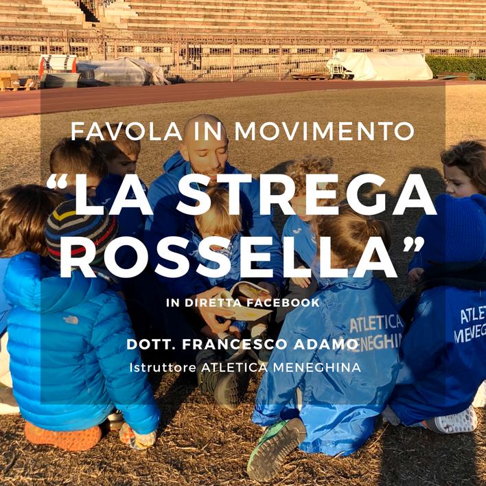 """""""Favola in movimento"""": non perderti la diretta Facebook con Francesco dedicata ai bambini."""