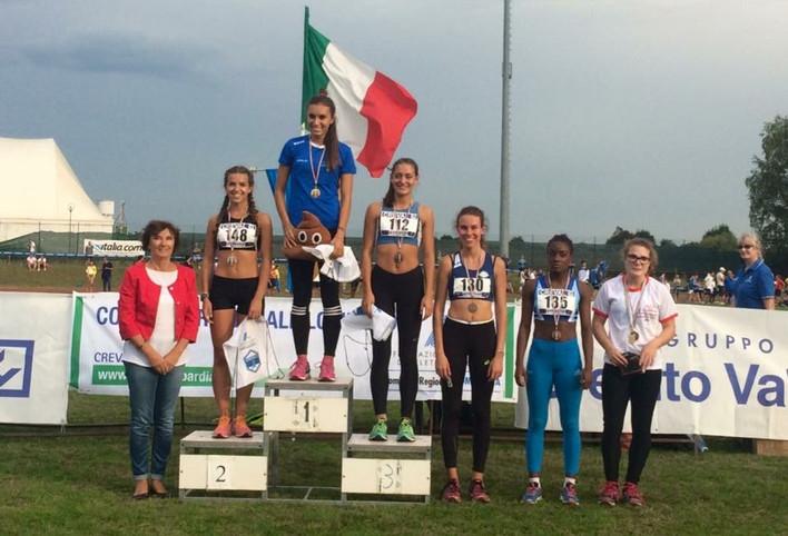 Doppietta per Arianna De Masi e Laura De Marzi ai Campionati Regionali Allievi. Super Cadetti a Besa