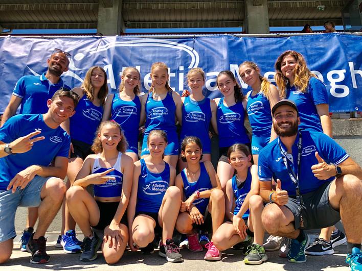 CDS Ragazze: le nostre Tigers scalano la classifica in Lombardia!