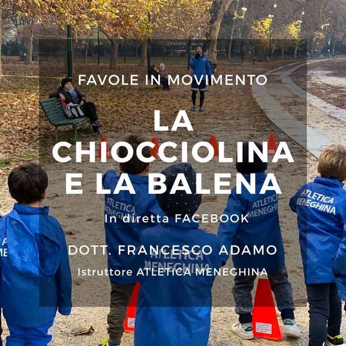 """""""Favola in movimento"""": non perderti la terza diretta Facebook con Francesco dedicata ai ba"""