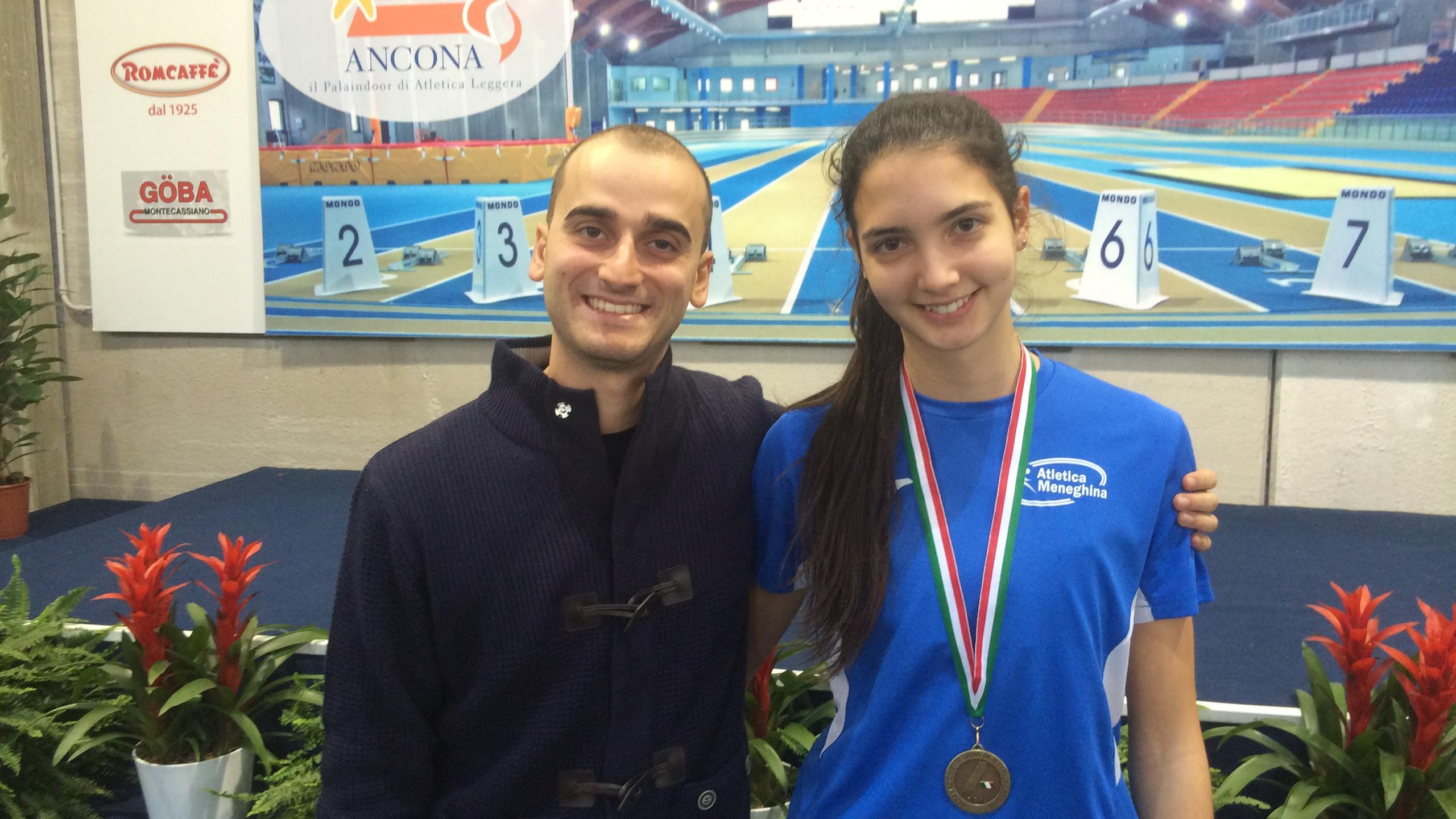 Laura e il suo allenatore