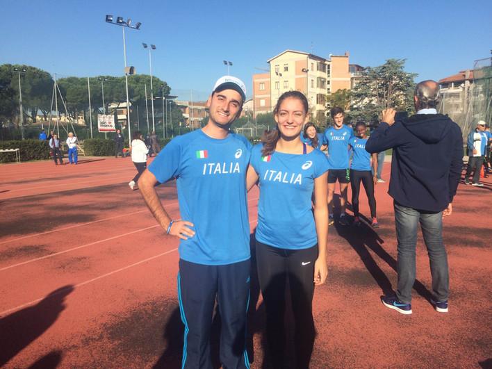 Arianna De Masi e il suo tecnico Stefano Auletta al raduno nazionale di Grosseto!