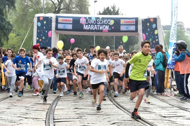 Milano School Marathon: Atletica Meneghina presente tra i volontari!
