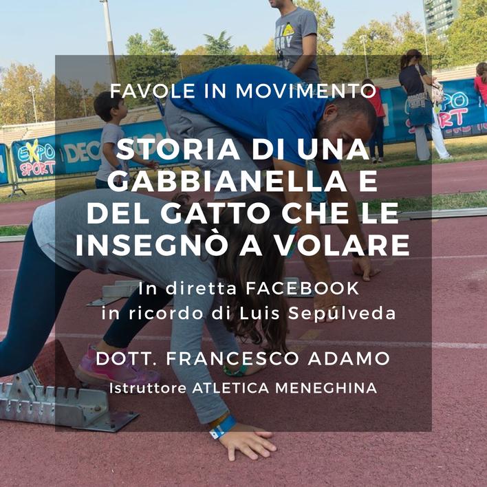 """""""Favola in movimento"""": non perderti la sesta diretta Facebook con Francesco dedicata ai ba"""