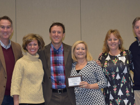 Sassafras Receives Corporate Volunteer Partner of the Year Award from DSG of Greater Kansas City