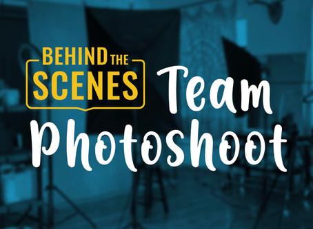Behind the Scenes of Sassafras' Virtual Team Photoshoot
