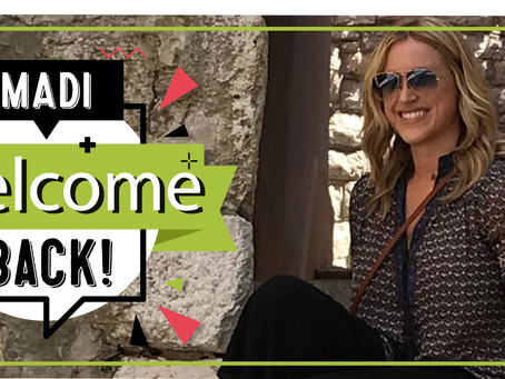 Welcome, Madi, (back) to Sassafras!