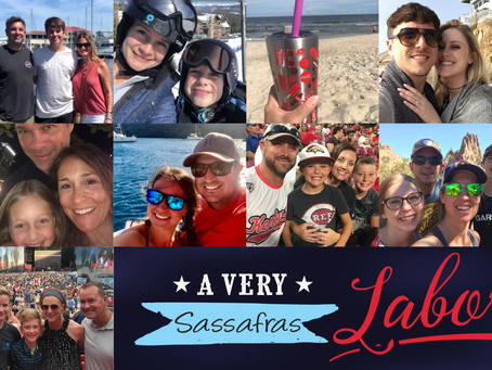 Labor Day Fun at Sassafras