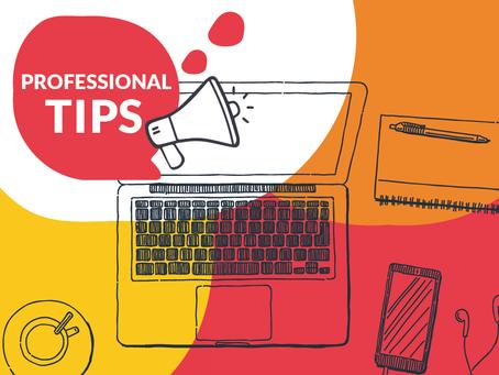 Professional Habit Tips from the Sassafras Team