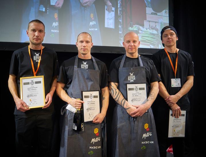 Suomen ensimmäisen Burger Battle -kilpailun voitti Pekka Koponen, Ravinteli Huberista