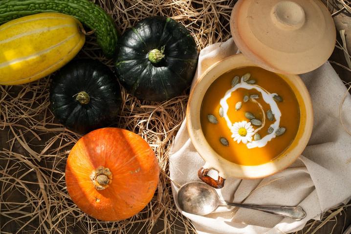 Resepti: Halloweenin kurpitsakeitto