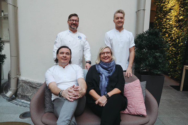 Ahlman ja Olo Group aloittavat yhdessä uuden Huippukokki-koulutusohjelman