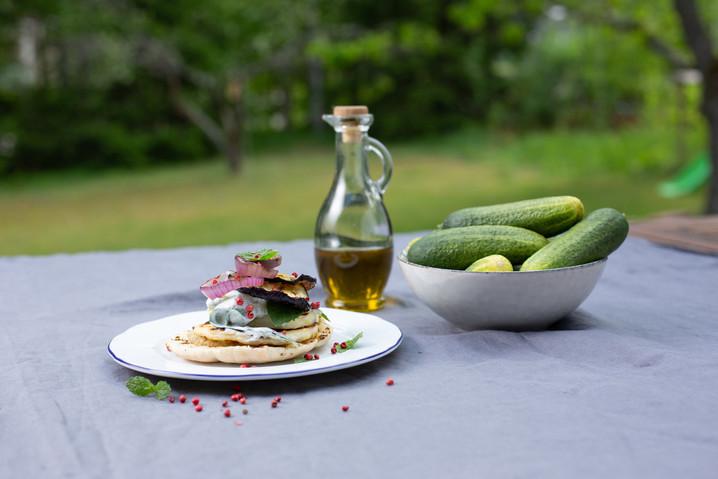 Grillivinkki: Kyproksen pita-leivät Apetina Halloumi-juustolla