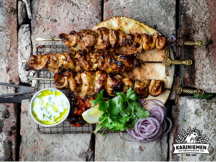 Grillivinkki: Libanonilainen grillikana