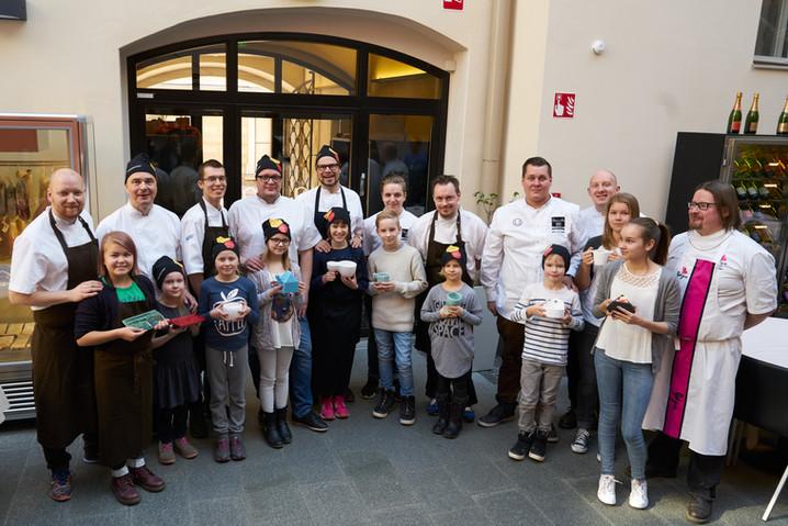 CHIL-DISH-projekti huipentui: 10 lasta, 10 keittiömestaria ja 3D-tulostetut astia
