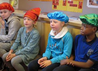 Voorleesweek : ouders en directie kwamen voorlezen in het derde leerjaar !