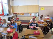 We lachen het nieuwe schooljaar toe in het derde leerjaar : de smileyklas !