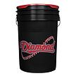 6 Gallon Bucket - Black