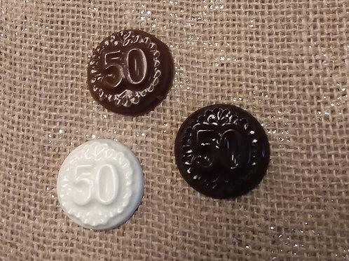 50th Medallions