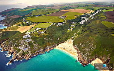 Porthcurno and Porthcurno  Beach Cornwall. Stay at Wolf Rock holiday accommodation in Porthcurno.