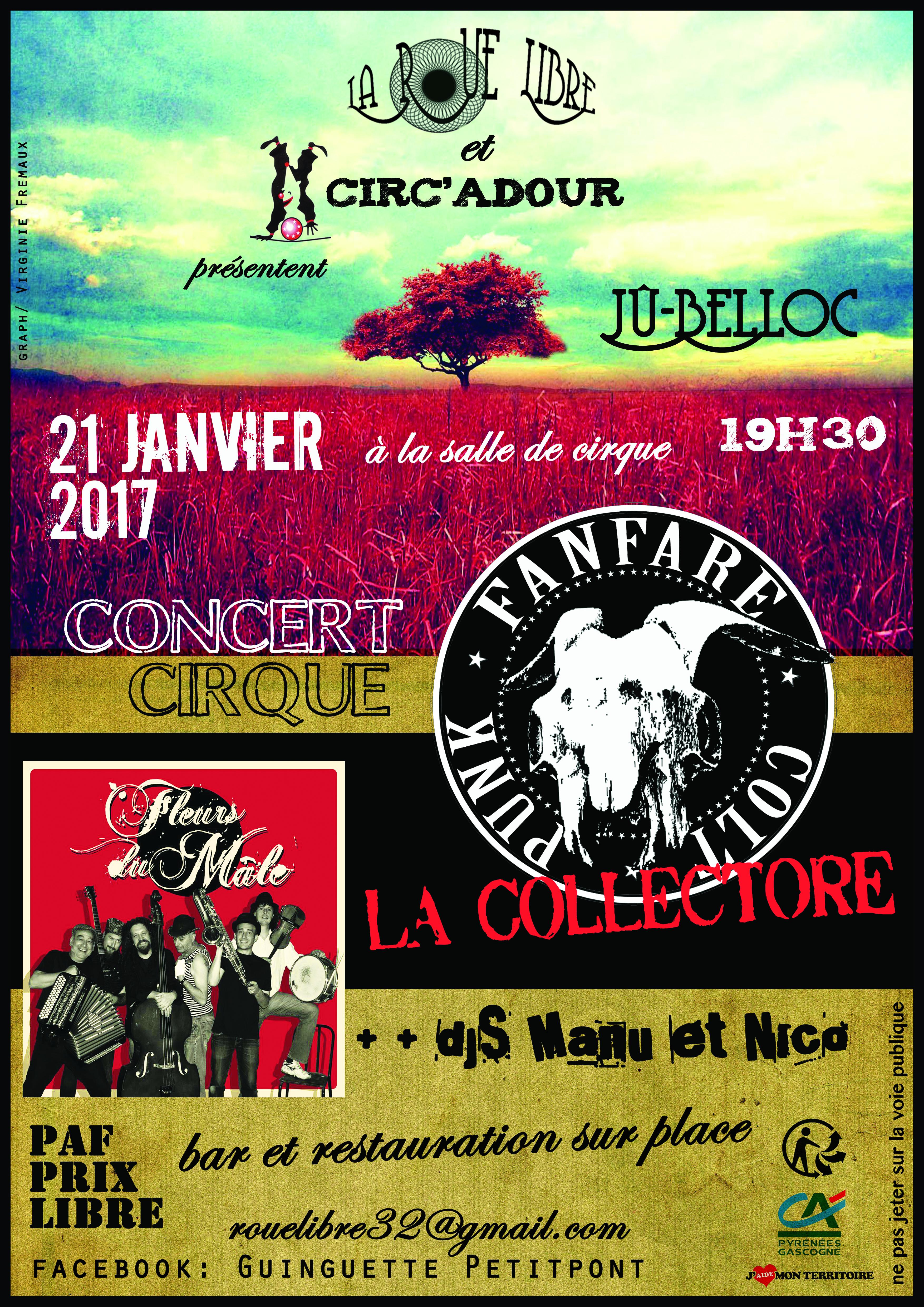 Concert Cirque 2017