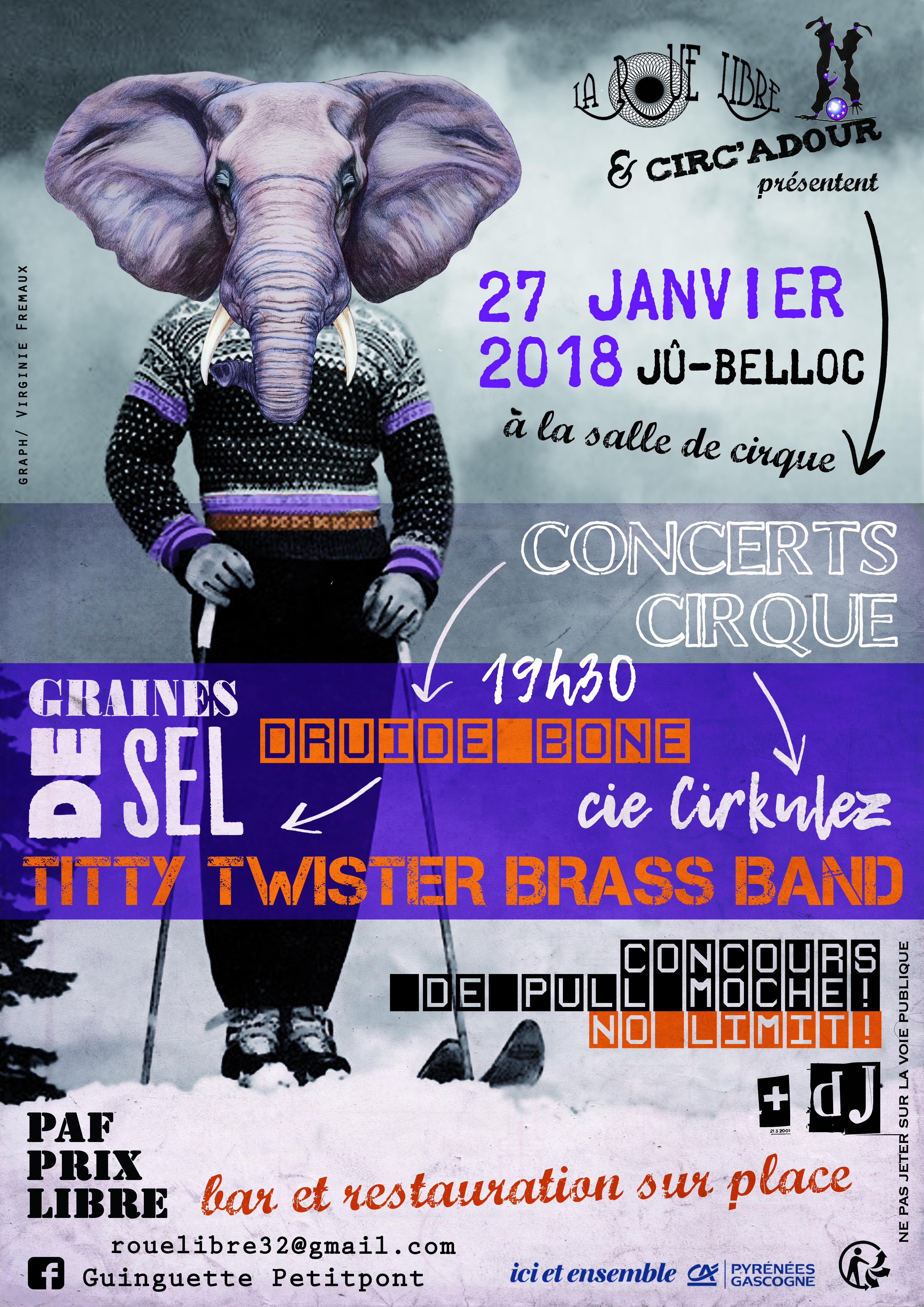Concert Cirque 2018