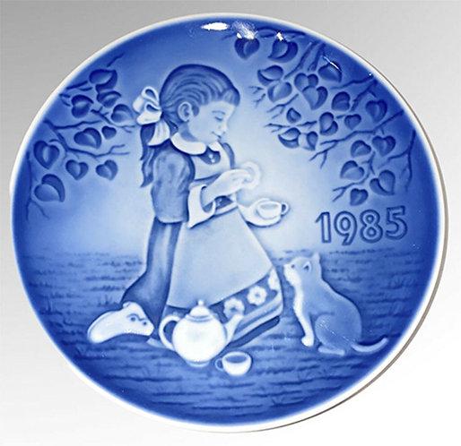 B&G Children's Day Plate (First) 1985