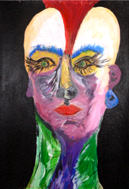 Self portrait/Auto retrato/Selbstporträt