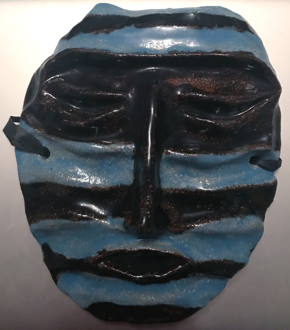 Mapuche Mask/Mapuche Maske/Mascara Mapuche