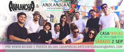 Avalancha + Andi Andean