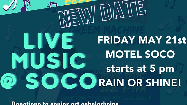 FREE Outdoor Concert & Art Scholarship Fundraiser
