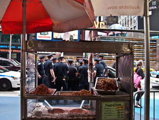 Times Square Shift Change