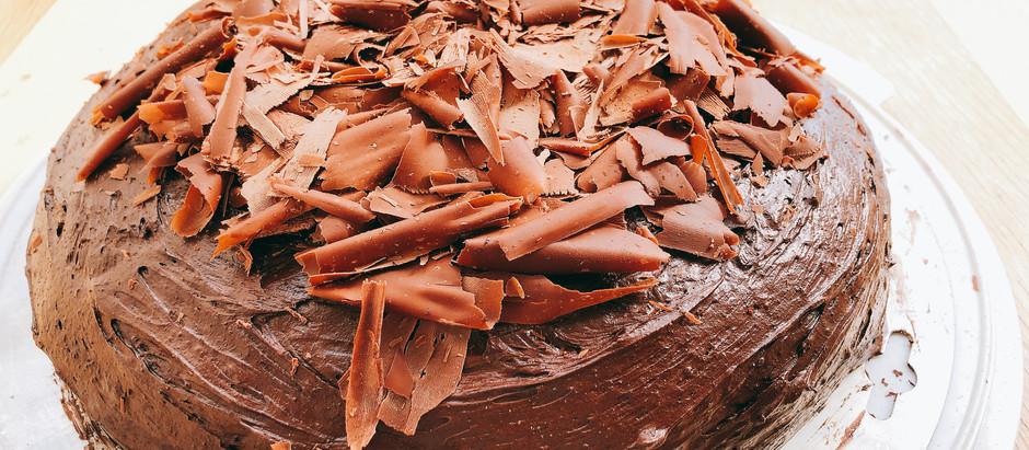 Super saftiger, veganer Schokoladenkuchen - einfach und gelingt immer!