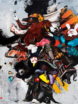 Conspiracy - 200 x  150 cm - 2016