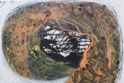 Putu Sutawijya - Mencari Akar - 200  x 300 cm - 2017 MMOC