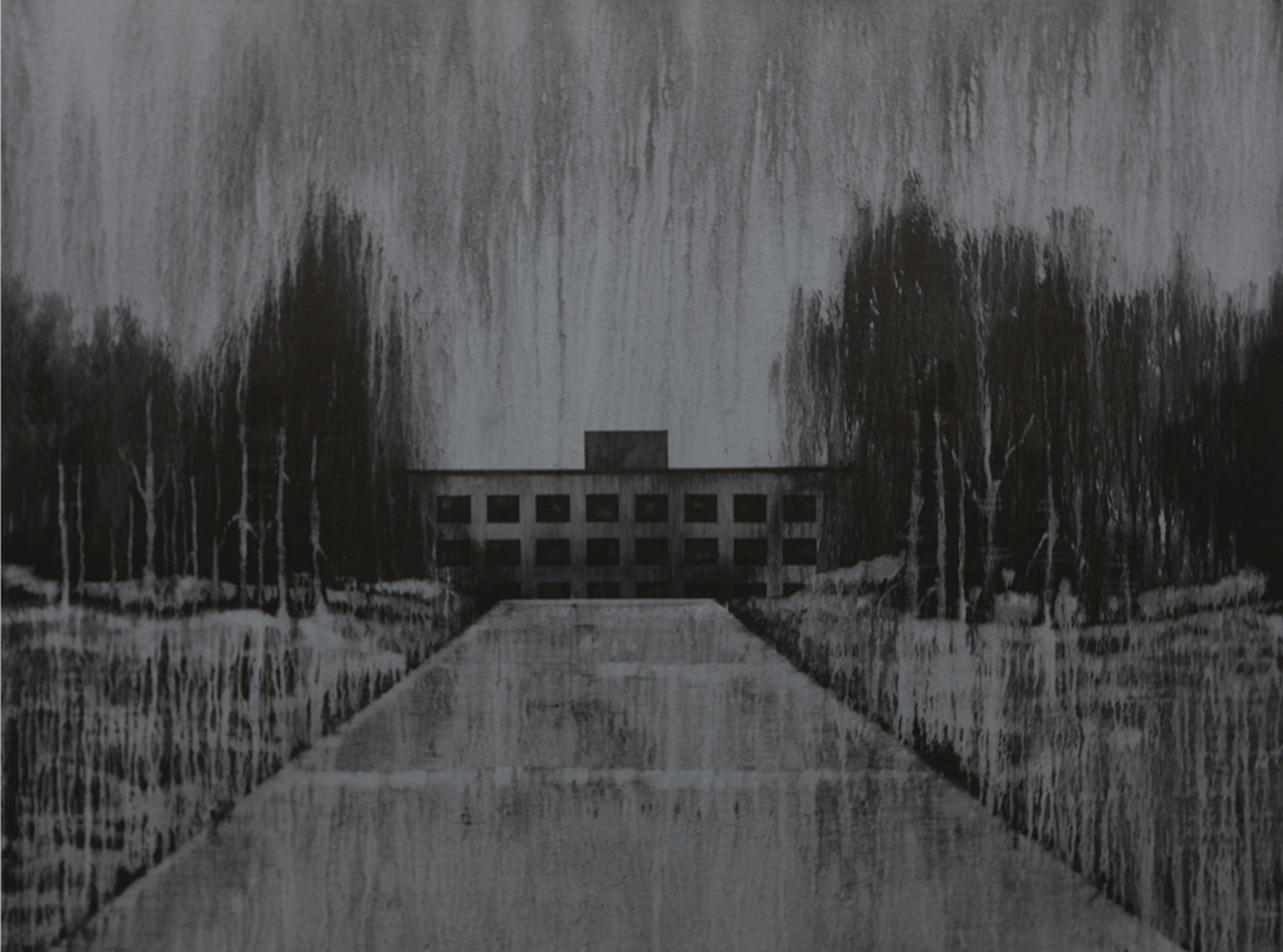 Andy Dewantoro, Monument 1986,    acrylic on canvas, 180 x 240 cm, 2011