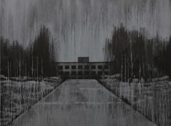 Andy Dewantoro, Monument 1986,    acrylic on canvas, 180 x 240 cm, 2011