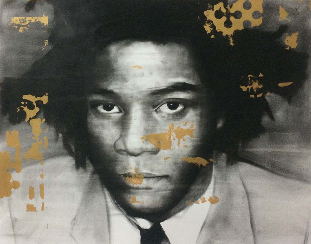 Heroes series # 5 - BASQUIAT