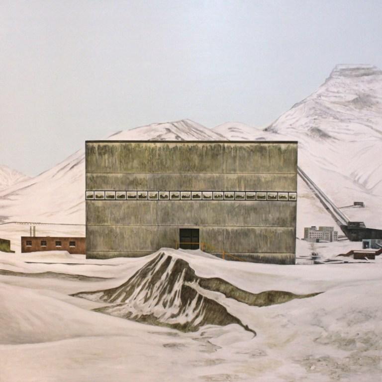 Andy Dewantoro - No Fate Awaits -       150 x 150 cm - 2017 - Oil on Canvas