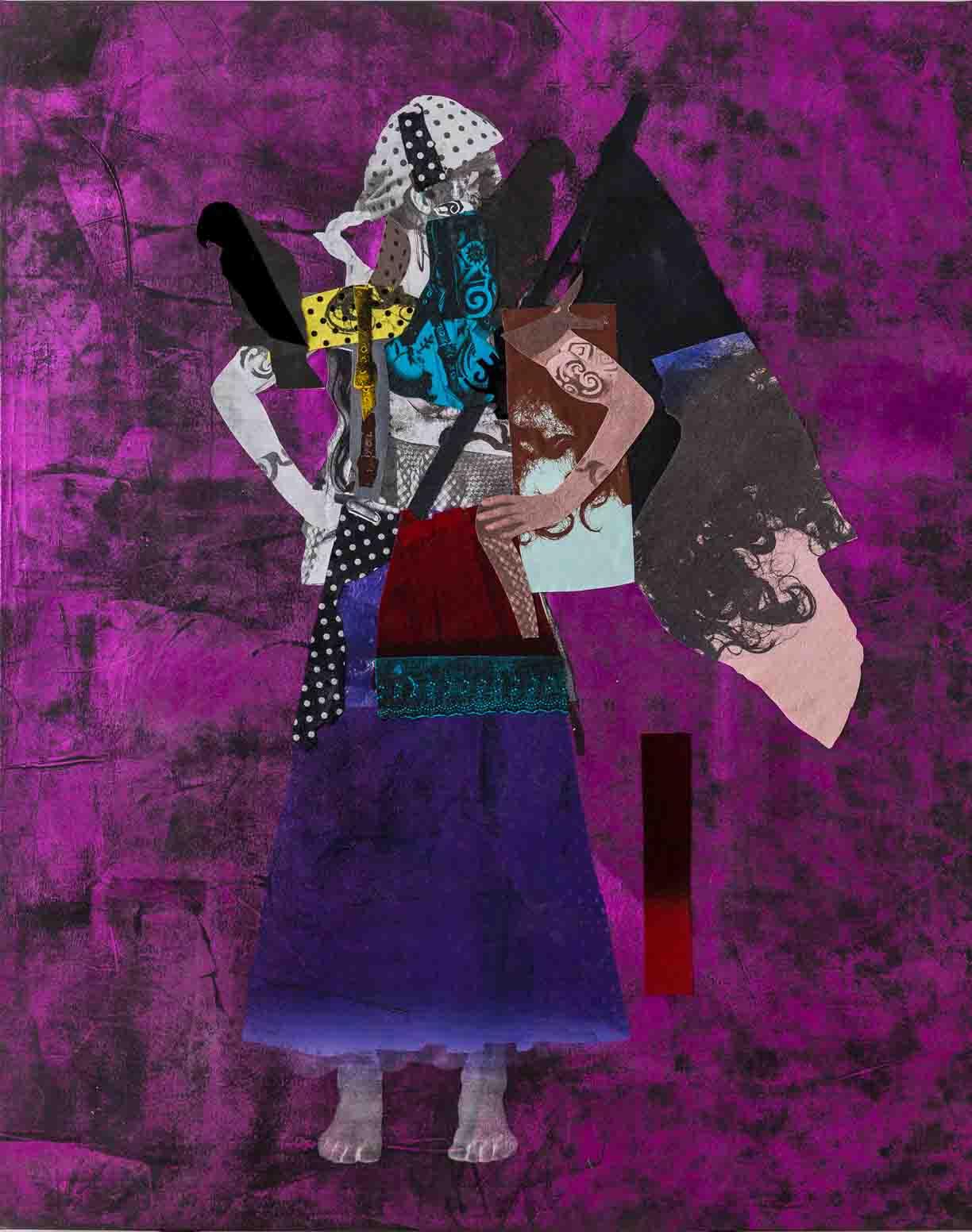 Sally Smart - The Exquisite Pirate  (Rauberromantik)190 x 150 cm