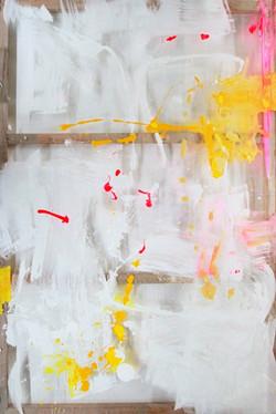 Erika Ernawan - Paint as a Medium -      Acrylic on perspex  - 120 x 180 cm - 2017