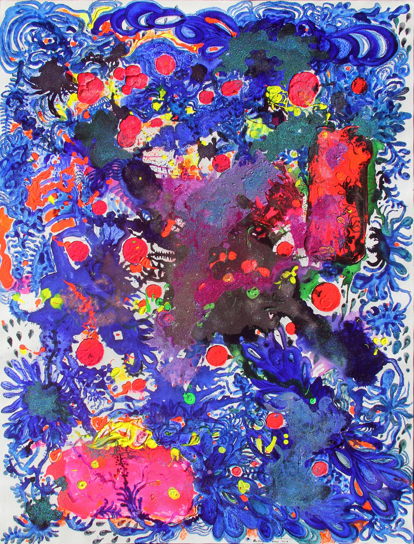 Entang Wiharso - Floating Garden   2016 200 x 150 cm- MMOC