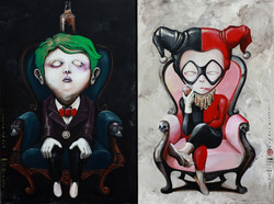 OKY REY MONTHA - COMBO - 150 x 200 cm - 2017 - Acrylic and Spraypaint on Canvas