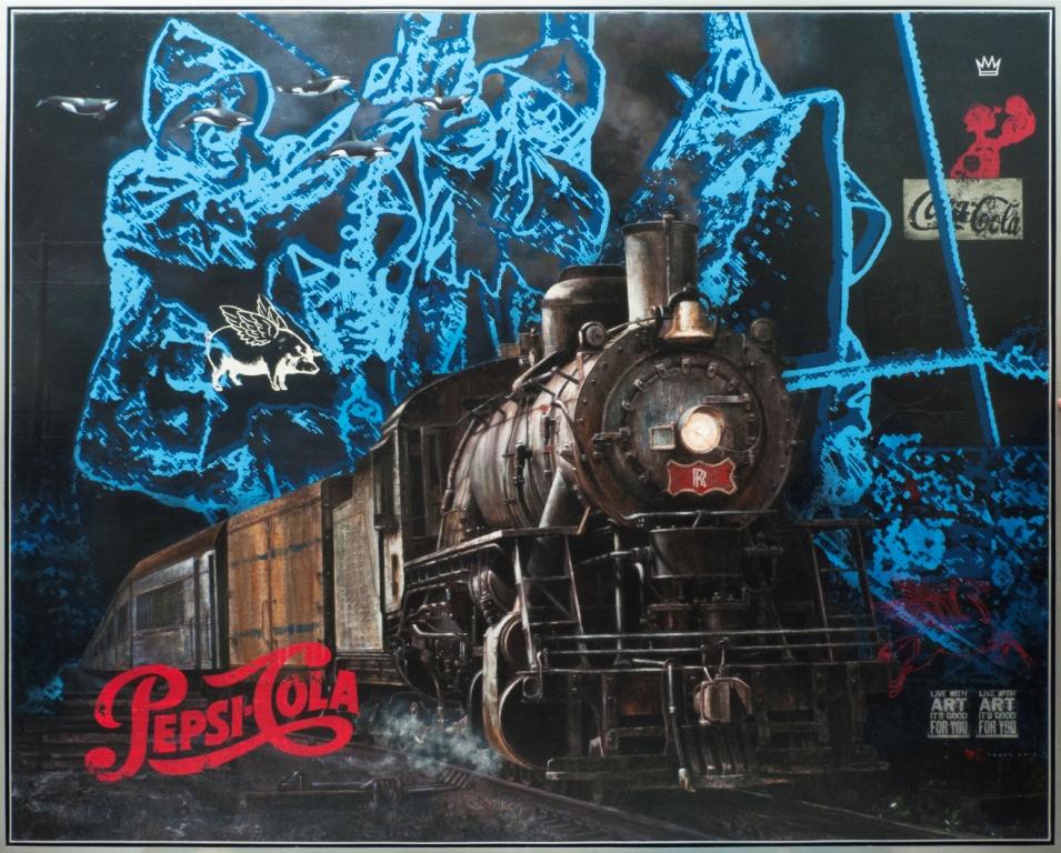 Big Tuna for The King-size 250 x  200 Cm - Acrylic on Canvas - 2017 - M.Irfan