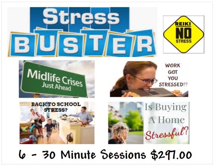 STRESS BUSTER REIKI!