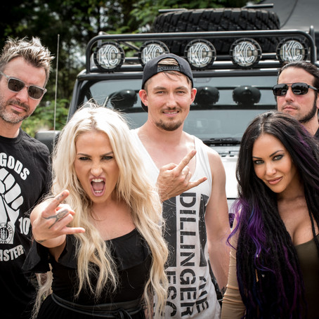 Butcher Babies play secret Zippo Sessions set at Carolina Rebellion 2018